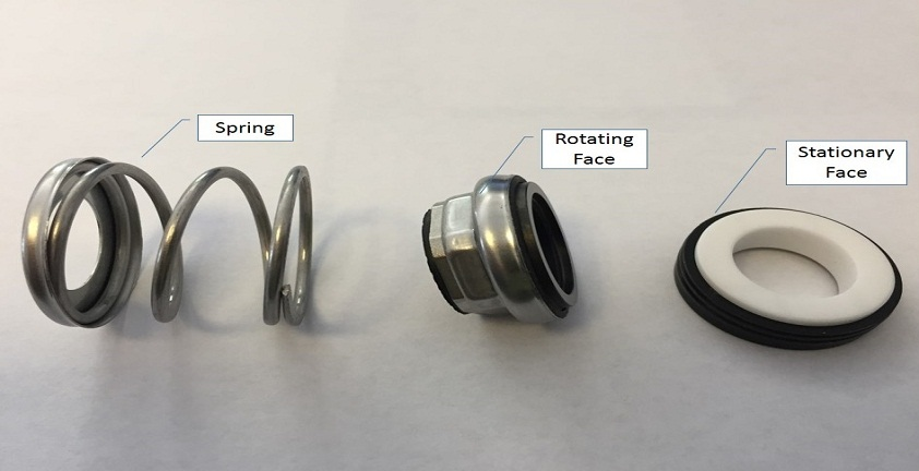 Image of mechanical seal parts