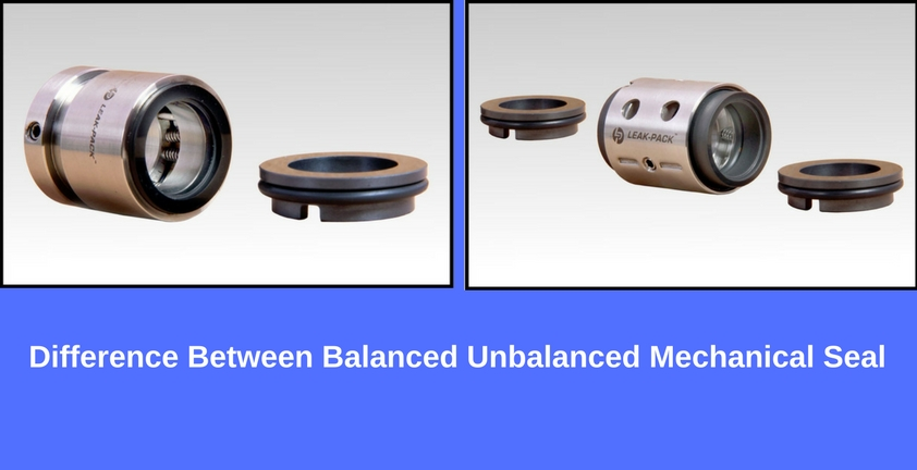 Balanced unbalanced mechanical seal