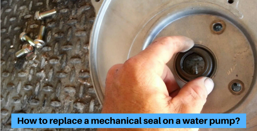 water pump in mechanical seal